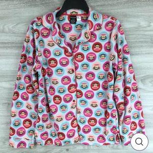 NEW Paul Frank Julius Monkey Pajama Top Size Lg